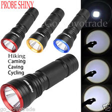Tactical CREE Q5 LED Bright Waterproof Flashlight Torch Lamp Camping Focus Light