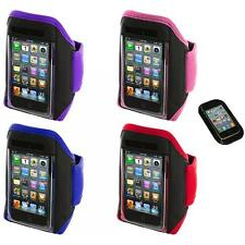 Gym Sports Armband Case Cover+Sticky Pad for iPod Touch 4th 3rd 2nd Gen 4G 3G