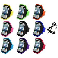 For iPod Touch 5th Gen 5G 5 Full Running Sports Gym Armband Case+Headphones