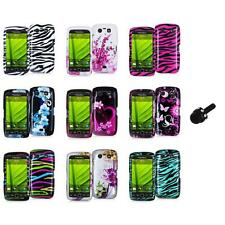 Design Hard Case Cover Accessory+Mini Stylus for Blackberry Torch 9850 9860
