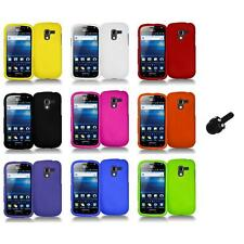 Color Hard Snap-On Case Skin Cover+Mini Stylus for Samsung Exhilarate i577