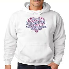 Sassy Chick Hoodie Im The Southern Girl Your Mama Warned You About Rebel Dixie