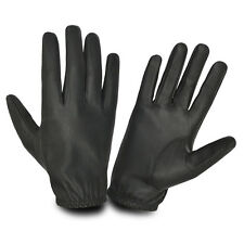 FULL SHEEP LEATHER CHAUFFEUR DRIVING GLOVES VINTAGE QUALITY SKIN FIT SOFT RETRO