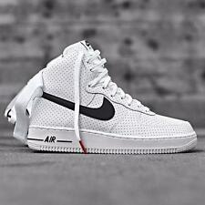 NIKE AIR FORCE 1 WHITE BLACK SIZE 8 9 10 11 12 MAX HUARACHE JORDAN V2