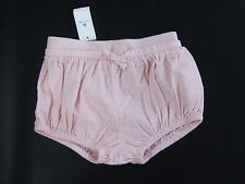 NWT Baby Gap Girls 6 12 18 24 Months Winter Pink Corduroy Bubble Shorts
