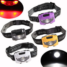 3W Lightweight LED Headlamp Headlight Flashlight Head Light Lamp outdoor Camping