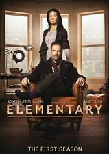 Elementary: The First 1st Season One 1 (DVD, 2013, 6-Disc Set)  w/Slipcover