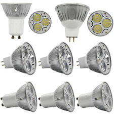 4X 10X MR16 GU10 LED Spotlight Bulb Lamp Light 3W AC85-265V/DC 12V Spot Lights