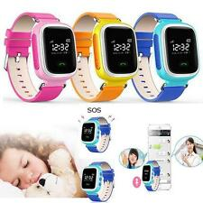 Kids GPS Smart Watch Wristwatch Phone SOS Call Location Anti-Lost Tracker
