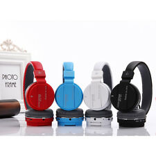 Wireless Bluetooth Headset Stereo Headphone Handfree Mic For Cell Smart Phone
