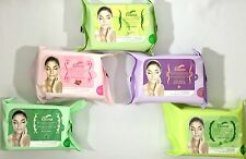 Bluna Make Up Remover Cleansing facial Wipes towelettes Face Tissues makeup