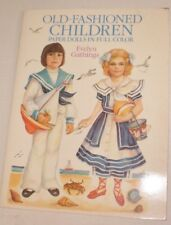 OLD Fashioned Children Paper Dolls  Unused by Evelyn Gathings