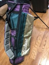 Titleist golf bag with single strap and 4 dividers