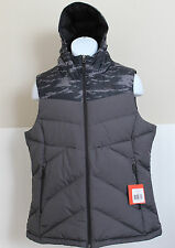 NWT THE NORTH FACE Women's Kailash Hooded 550 Down Puffer Vest Black L, XL $125