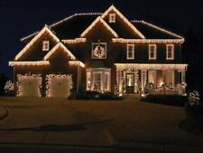 CHRISTMAS OUTDOOR 900 ICE or WARM WHITE 8 MULTI FUNCTION LED ICICLE LIGHTS PARTY