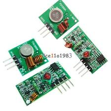1/5PCS  315/433 Mhz RF Transmitter And Receiver Module Arduino Wireless Remote