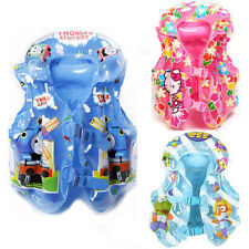 Baby Kids Children Inflatable Beach Swimming Pool Vest Float Jacket Training Aid