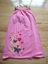 dress Hanna andersson 130 140 pink pillowcase butterfly hearts new nwt