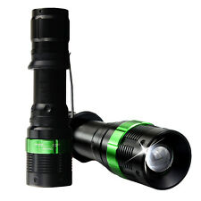 CREE XM-L Q5 LED 2200 Lumen Flashlight Torch Zoom Zoomable Lamp Light Torch New