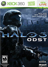 Halo 3 ODST Complete w/ 48 hour Xbox Live, Halo Reach Voucher (Xbox 360, 2009)