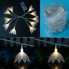 10 LED Four-leaf Clover LED String Fairy Lights Batttery Operated Party Wedding