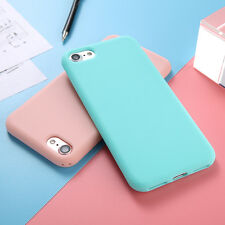 Shockproof Slim Candy Colour Rubber Soft TPU Case Cover For iPhone 6 6S 7 Plus