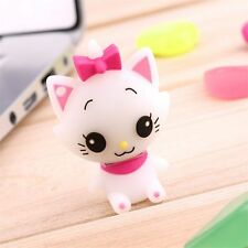 New Cute Cartoon Cat Model USB 2.0 Memory Stick Flash Pen Drive U Disk 8-32GB