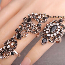 Fashion Turkish Jewelry Anel Carved Flowers Pretty Vintage Exquisite Mid Rings