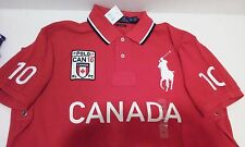 Polo Ralph Lauren Custom Fit CANADA Big Pony RED SHIRT S, M. L, XL, XXL