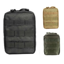 Military First Aid Bag Tactical Outdoor Empty Utility Molle Medical EMT Pouch