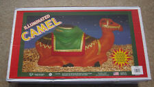 NEW in Box Camel Nativity Blow Mold Lighted Christmas by General Foam aka Empire