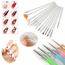 Beauty Nail Art Design Set Dotting Painting Drawing Polish Brush Pen Tools 20PCS