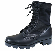 NEW ROTHCO 5081 G.I. STYLE JUNGLE BOOT BLACK PANAMA SOLE HIKING