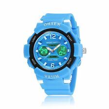 OHSEN Six Color Boys Girls Young Man Analog Digital Quartz Wrist Watch