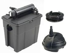 Oase Pontec Multiclear 5000 Complete Fish Pond Filter Set With Water Pump & UV