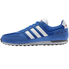 adidas City Racer Men's Shoes Trainers Sports Shoes Blue dragon beckenbauer