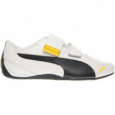 Puma Drift Cat 5 Ac Men's Shoes Touch fastener Leather Trainers White New future