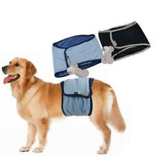Male Pet Dog Belly Band Diaper Nappy Pants Sanitary Toilet Training Size XS-XL