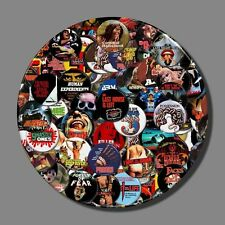 Video Nasties - The Badges. 12 Classic Video Nasty 37mm Pin Button Badges