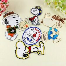 10pcs/set Cartoon Cute Dogs Embroidery Applique Sew/Iron on Patches/Badges