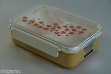 """Kishu Lacquerware Bento Lunch Box """"Lacquer Sakura"""" Microwave Proof choose from 2"""