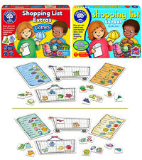 Shopping List Kids Educational Board Game Extra Clothes Fruits Pack Orchard Toys