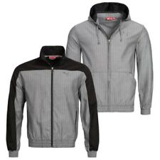 PUMA Men'S Casual Jacket EVO Track With Hoodie Hooded Jacket Grey S-XL new