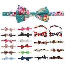 Mens Fashion Stylish Bowtie Wedding Party Accessory Pre Tied Adjustable Necktie