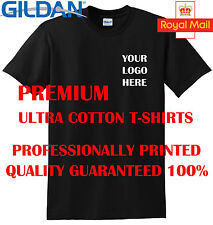 New Personalised Logo Text printed workwear t shirt custom work company t top