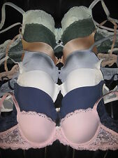 VICTORIA'S SECRET ANGELS MEMORY FIT DREAM DEMI AIR PUSH UP BRA 34 36 38 A B C D