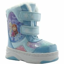 NEW NWOT Disney Frozen Baby or Toddler Snow Boots Size 5 6 8 9 10 or 11 Elsa