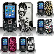 For Samsung Intensity 3 U485 Hard Rubberized Matte Snap-On Case Phone Cover