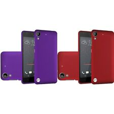 For HTC Desire 530 Rubberized Matte Snap-On Hard Case Phone Cover