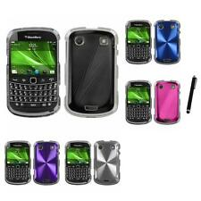 For BlackBerry Bold Touch 9900 9330 Aluminum Armor Slim Hard Case Stylus Pen